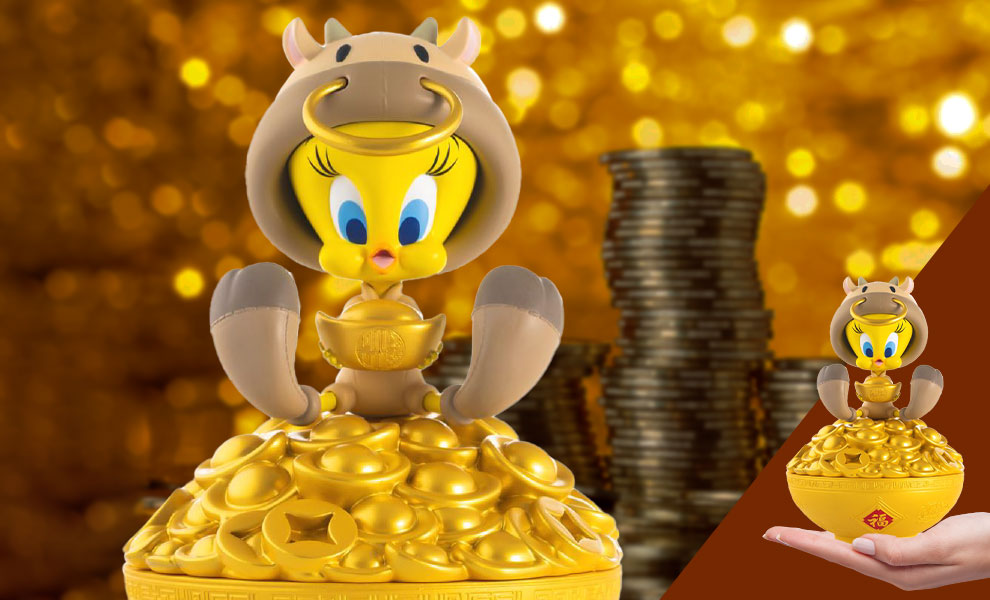 Gallery Feature Image of Wealthy Tweety Statue - Click to open image gallery