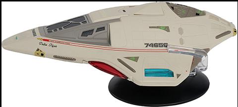 Eaglemoss Delta Flyer Model