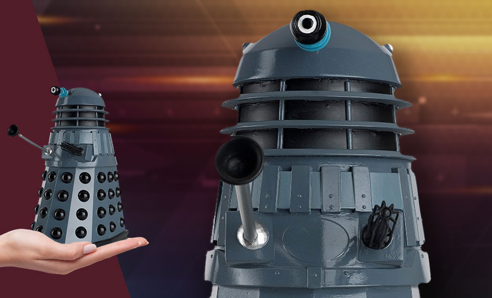 Gallery Feature Image of Mega Genesis Dalek Figurine - Click to open image gallery