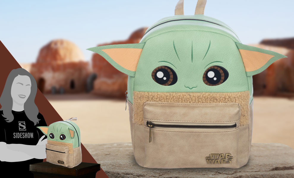 Gallery Feature Image of Grogu Mini Backpack Apparel - Click to open image gallery