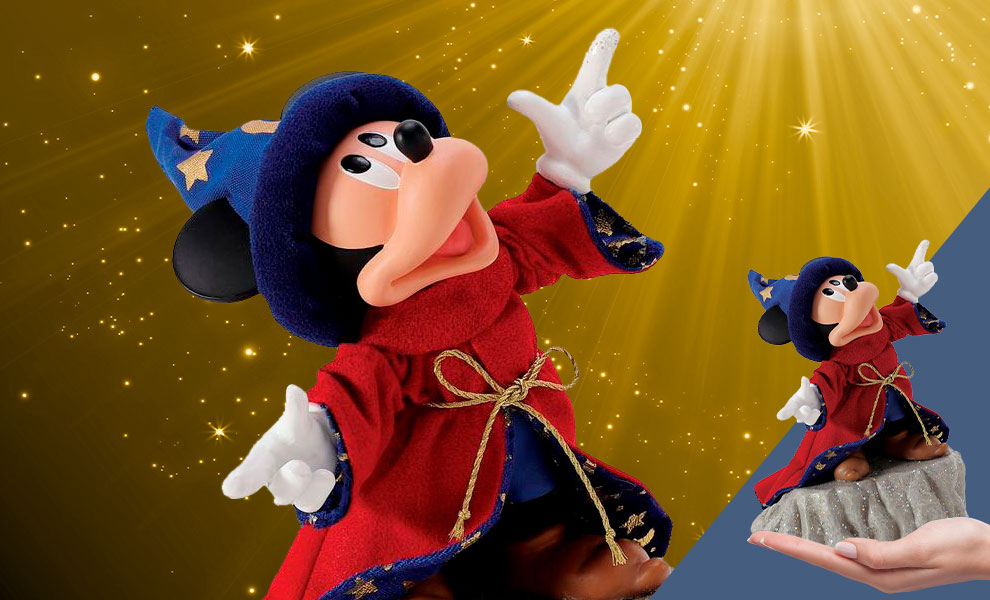 Gallery Feature Image of Sorcerer Mickey PVC Figure - Click to open image gallery