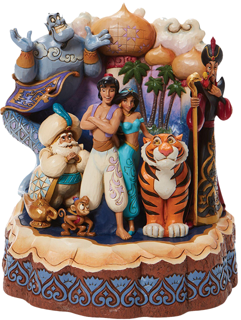 Enesco, LLC Carved by Heart Aladdin Polyresin Figure