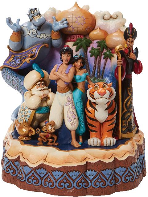 Enesco, LLC Carved by Heart Aladdin Figurine