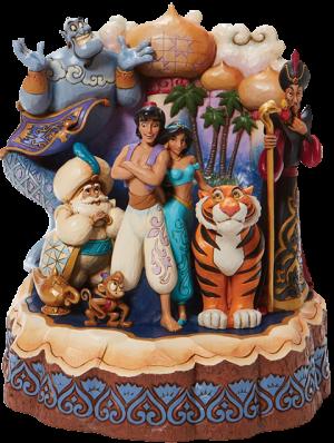 Carved by Heart Aladdin Figurine