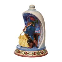 Gallery Image of Beauty and the Beast Rose Dome Polyresin Figure
