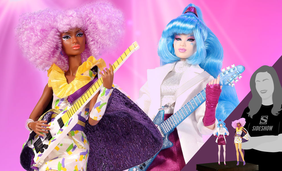 Gallery Feature Image of Beat This Aja Leith™ and Shana Elmsford™ Two-Doll Gift Set Collectible Doll - Click to open image gallery