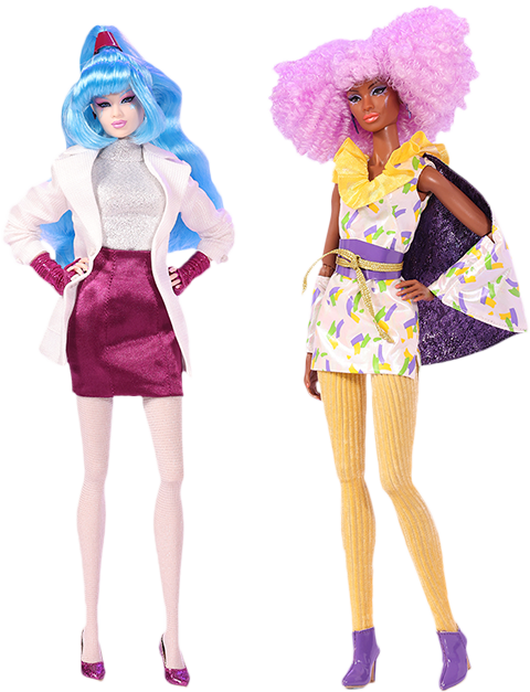 Integrity Toys Beat This Aja Leith™ and Shana Elmsford™ Two-Doll Gift Set Collectible Doll