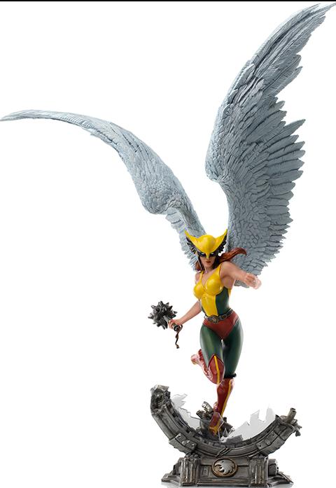 Iron Studios Hawkgirl (Deluxe) Statue