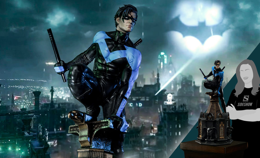 Gallery Feature Image of Nightwing Statue - Click to open image gallery