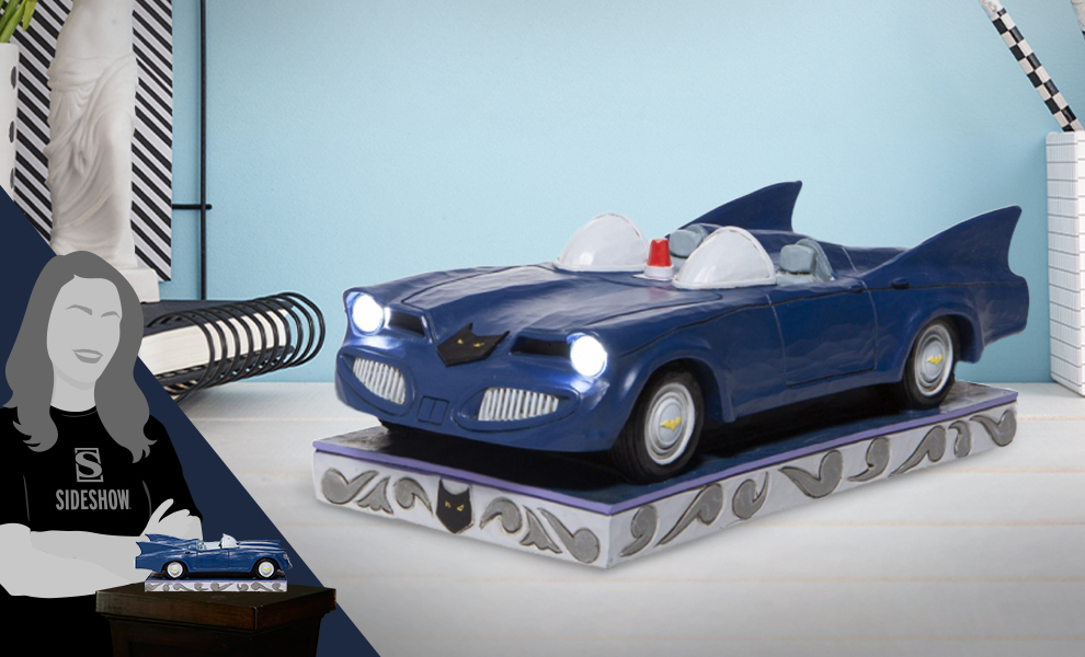 Gallery Feature Image of Batmobile Figurine - Click to open image gallery