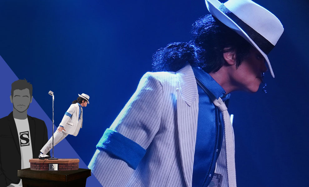 Gallery Feature Image of Michael Jackson: Smooth Criminal Statue - Click to open image gallery