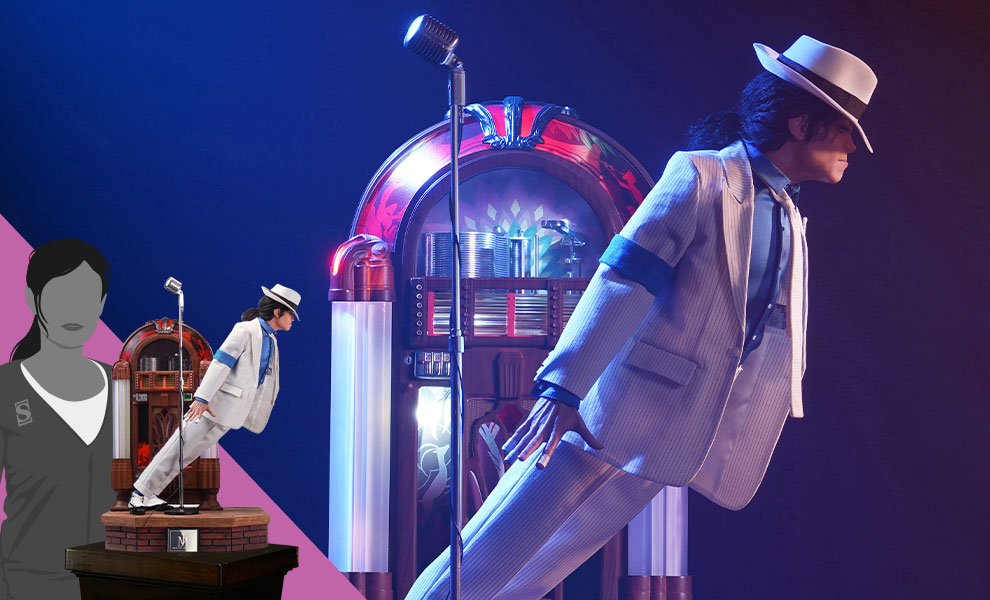 Gallery Feature Image of Michael Jackson: Smooth Criminal (Deluxe Version) Statue - Click to open image gallery