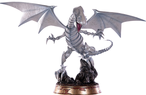 First 4 Figures Blue-Eyes White Dragon (White Variant) Statue