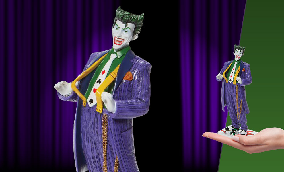 Gallery Feature Image of The Joker Couture de Force Figurine - Click to open image gallery