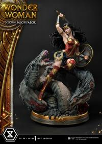 Gallery Image of Wonder Woman VS Hydra Statue
