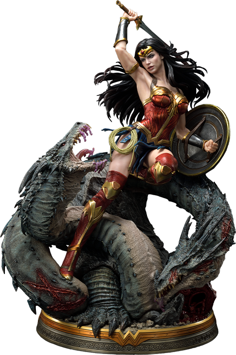 Prime 1 Studio Wonder Woman VS Hydra Statue