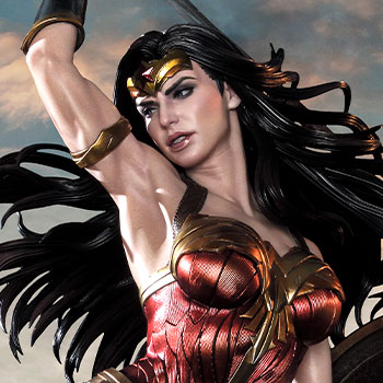 Wonder Woman VS Hydra Statue