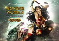 Gallery Image of Wonder Woman VS Hydra Bonus Version Statue