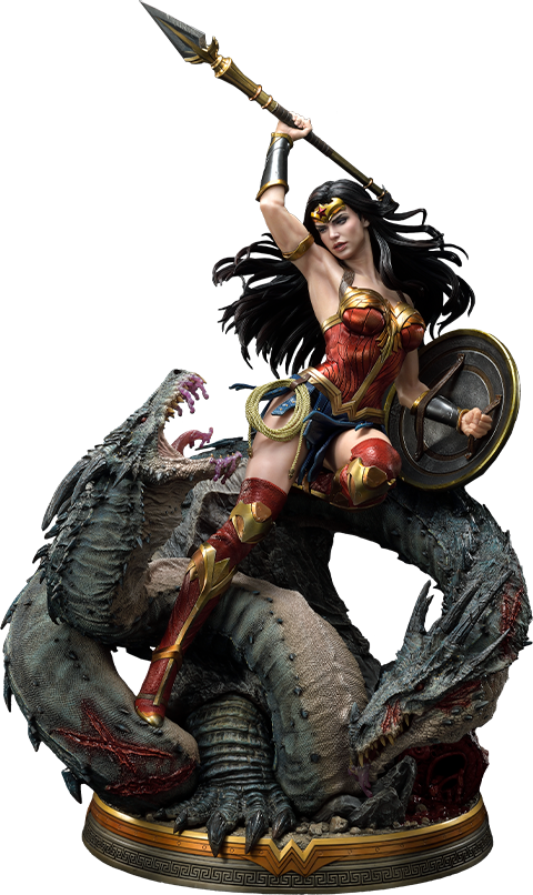 Prime 1 Studio Wonder Woman VS Hydra Bonus Version Statue