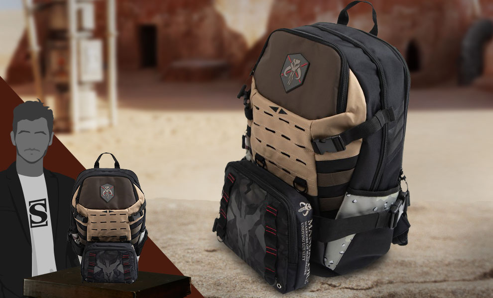 Gallery Feature Image of Warriors of Mandalore Backpack Apparel - Click to open image gallery