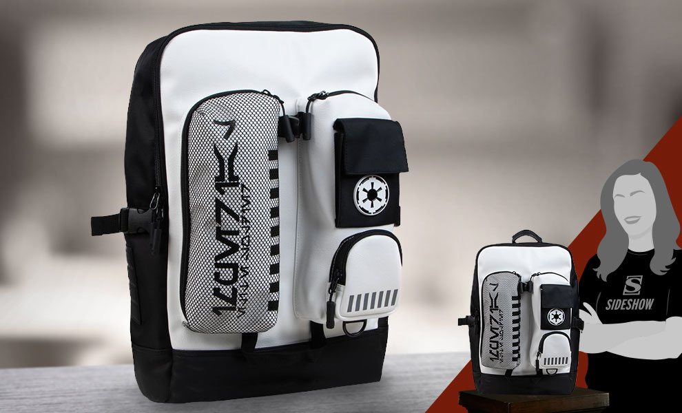Gallery Feature Image of Stormtrooper Backpack Apparel - Click to open image gallery