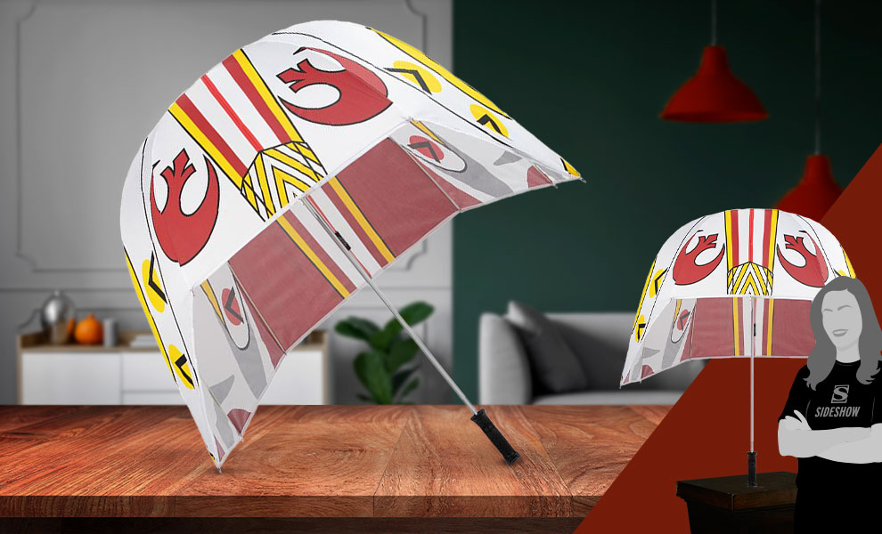 Gallery Feature Image of Rebel Helmet Umbrella - Click to open image gallery