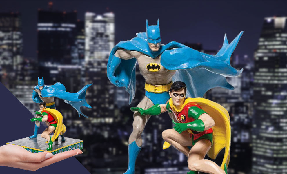 Gallery Feature Image of Batman & Robin Figurine - Click to open image gallery