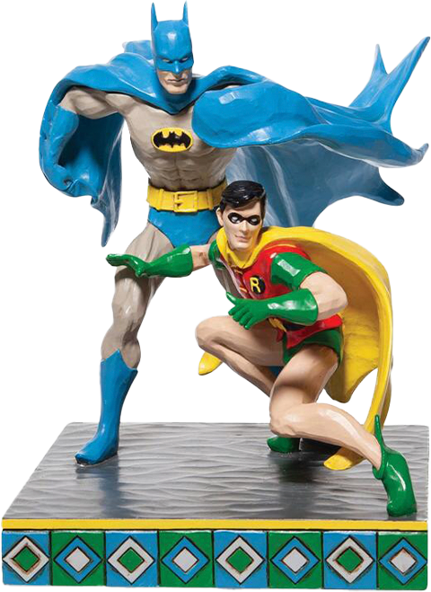 Enesco, LLC Batman & Robin Figurine