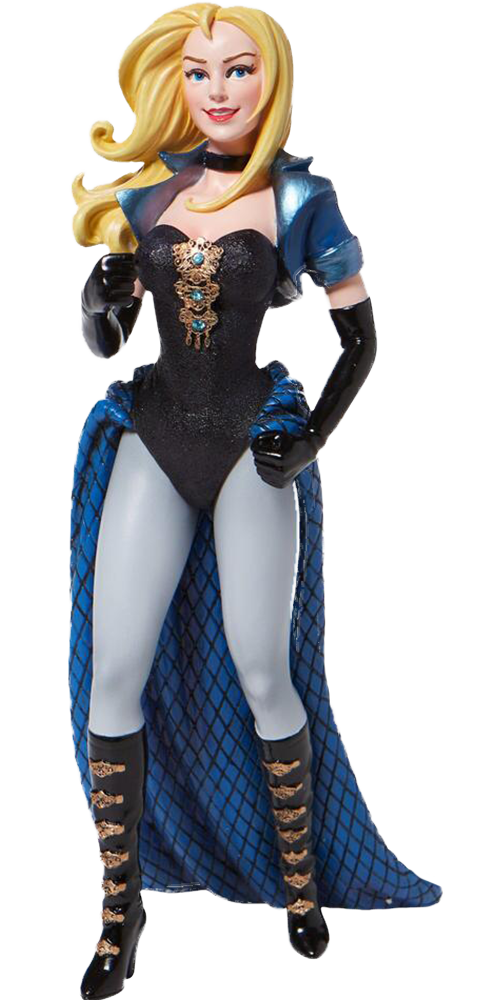Enesco, LLC Black Canary Couture De Force Figurine