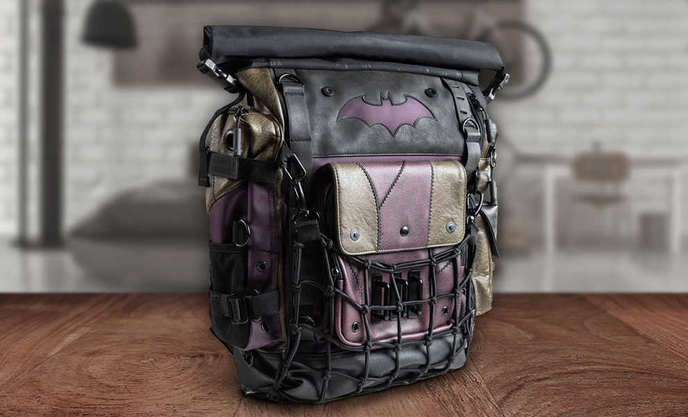 Gallery Feature Image of Batman & Joker Roll-top Backpack Apparel - Click to open image gallery
