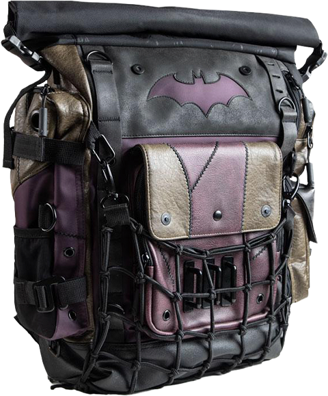 Heroes & Villains Batman & Joker Roll-top Backpack Apparel
