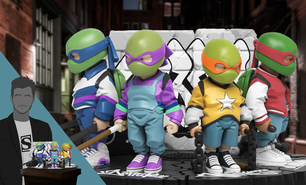 Gallery Feature Image of Teenage Mutant Ninja Turtles Collectible Set - Click to open image gallery