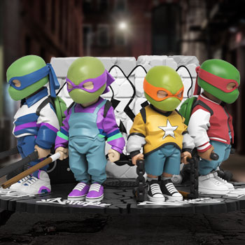 Teenage Mutant Ninja Turtles Collectible Set