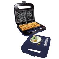 Gallery Image of The Child and Mandalorian Dual Square Waffle Maker Kitchenware