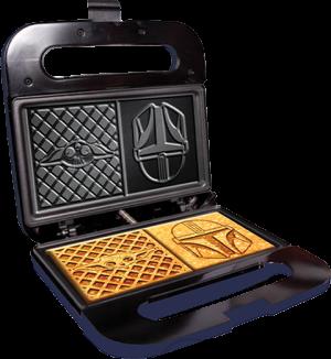 The Child and Mandalorian Dual Square Waffle Maker Kitchenware