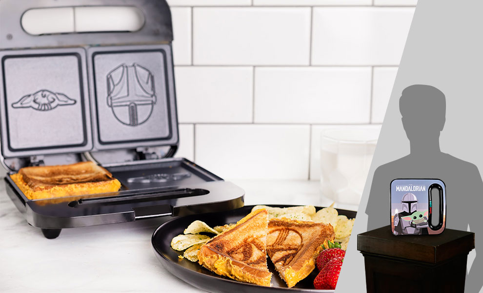 Gallery Feature Image of The Mandalorian Grilled Cheese Maker Kitchenware - Click to open image gallery