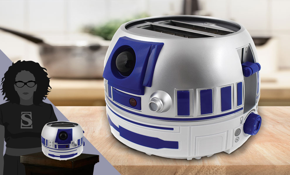 Gallery Feature Image of R2-D2 Deluxe Toaster Kitchenware - Click to open image gallery