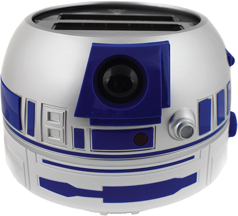 Uncanny Brands, LLC R2-D2 Deluxe Toaster Kitchenware