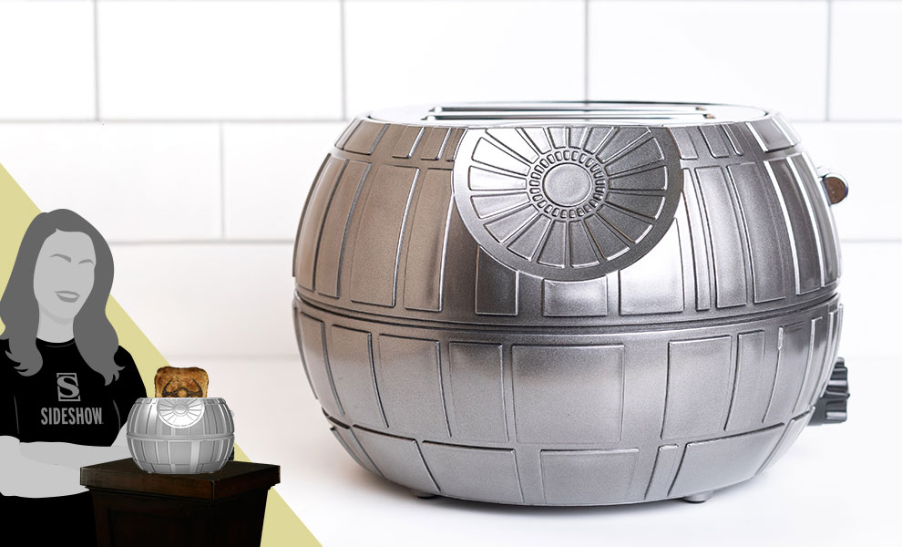 Gallery Feature Image of Death Star Two-Slice Toaster Kitchenware - Click to open image gallery