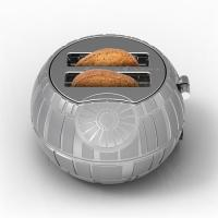 Gallery Image of Death Star Two-Slice Toaster Kitchenware