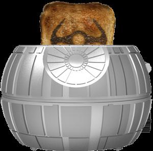 Death Star Two-Slice Toaster Kitchenware