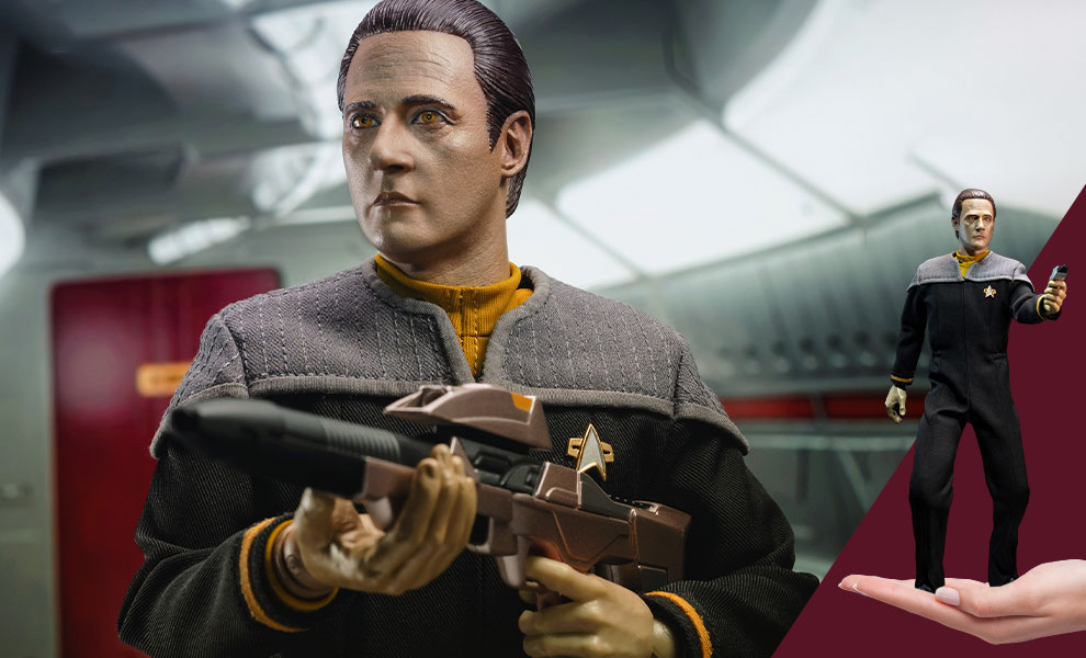Gallery Feature Image of Lieutenant Commander Data Sixth Scale Figure - Click to open image gallery