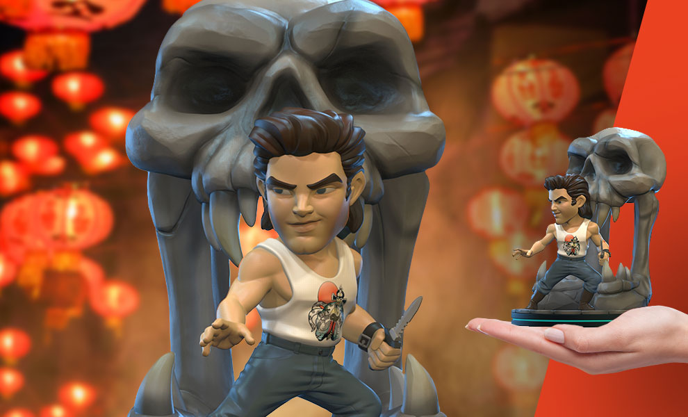 Gallery Feature Image of Jack Burton Q-Fig Elite Collectible Figure - Click to open image gallery