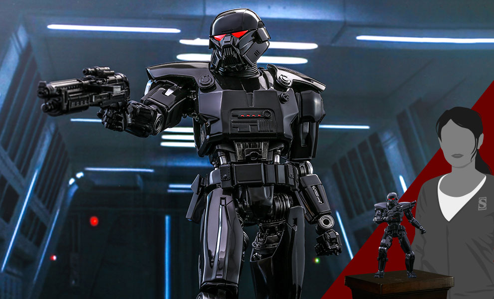 Gallery Feature Image of Dark Trooper™ Sixth Scale Figure - Click to open image gallery