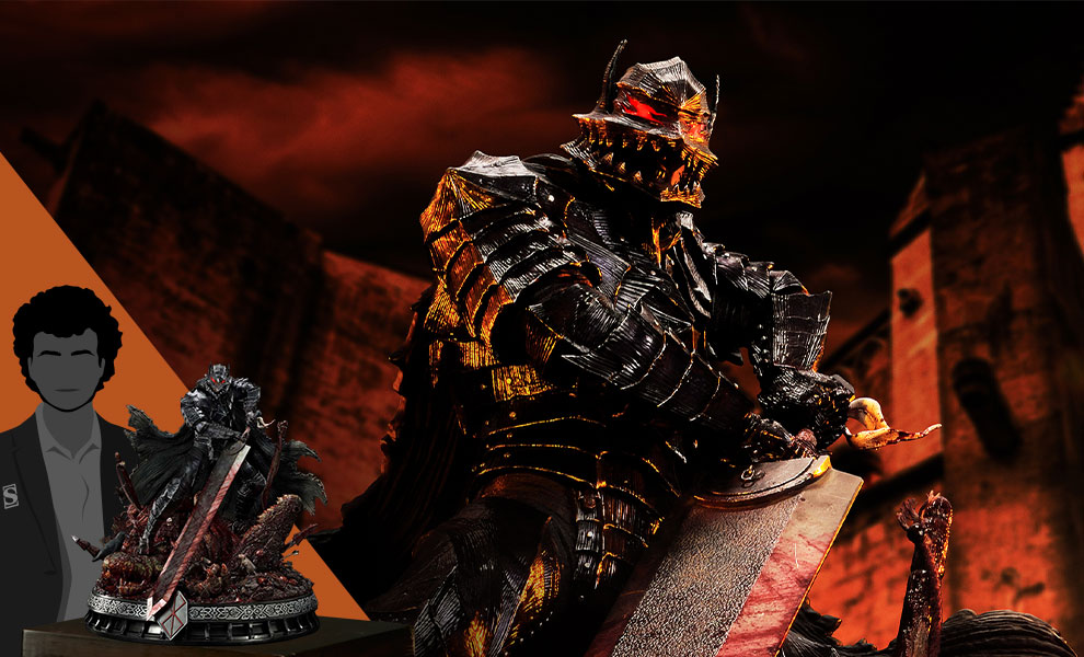 Gallery Feature Image of Guts Berserker Armor (Rage Edition) Statue - Click to open image gallery