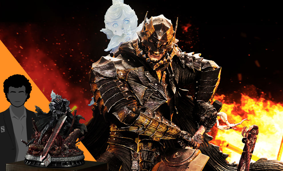 Gallery Feature Image of Guts Berserker Armor (Rage Edition) Deluxe Version Statue - Click to open image gallery