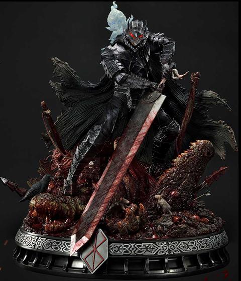 Prime 1 Studio Guts Berserker Armor (Rage Edition) Deluxe Version Statue