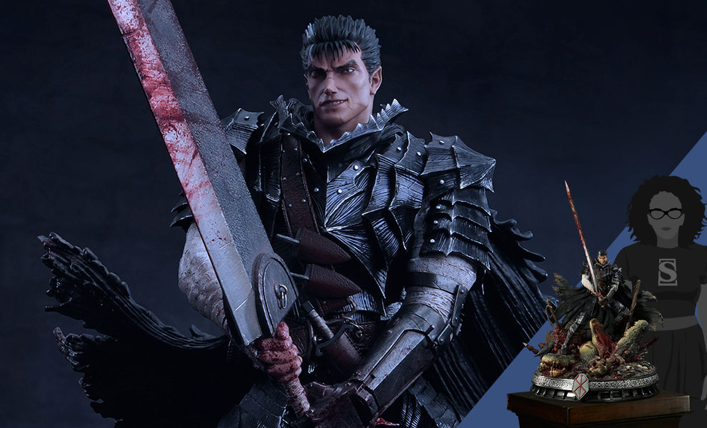 Gallery Feature Image of Guts Berserker Armor (Unleash Edition) Deluxe Version Statue - Click to open image gallery