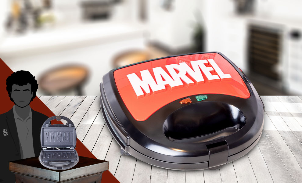 Gallery Feature Image of Eat the Universe - Marvel Logo 3-in-1 Kitchenware - Click to open image gallery