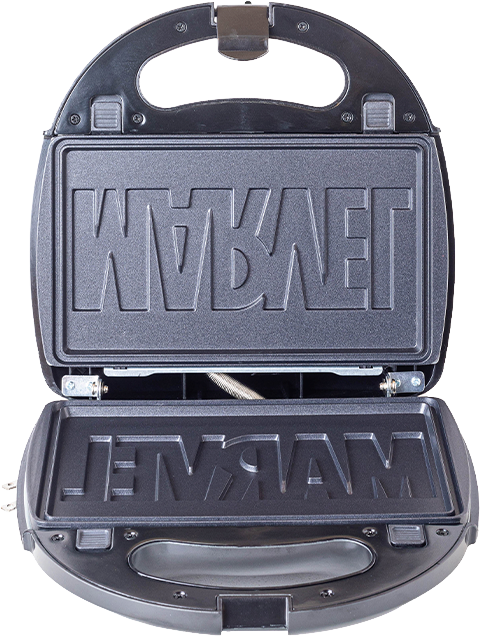 Uncanny Brands, LLC Eat the Universe - Marvel Logo 3-in-1 Kitchenware